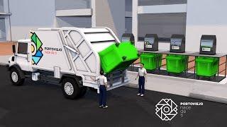 Un nuevo sistema que cambiará la forma de recolectar la basura en Portoviejo