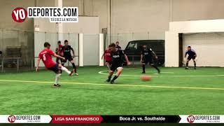 Boca Jr. vs Southside Liga San Francisco Champions de los Martes