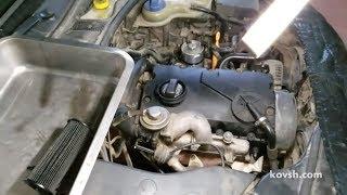 Как начинает стучать шатун. Volkswagen Passat B5 1.9d, AJM