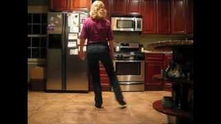 Uno, Dos, Tres (line dance) walk-through