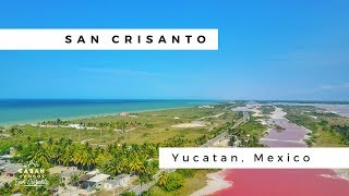 The pink water in the Yucatan! Caban Condos - San Crisanto