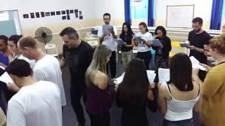 """Preparação com Saulo Vasconcelos - """"Nos Bastidores da Broadway"""""""