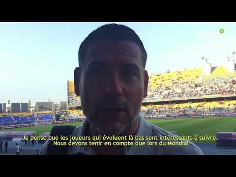 Video : Entretien Andres Palop : «Le football marocain s'est révélé aux yeux du monde entier en Coupe du monde»