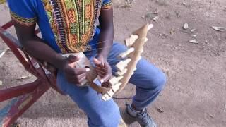 "The Bow Harp Sound. "" Adungu"""