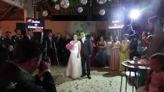 Dança dos noivos coreografia - Love Someone - Jason Mraz - Casamento Cristiany e Júlio