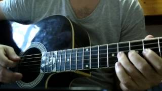 Ed Sheeran I See Fire instrumental ( guitar improvisation by Alex Peptanariu )