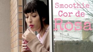 Smoothie Cor-de-Rosa | Dia dos Namorados | Vegan