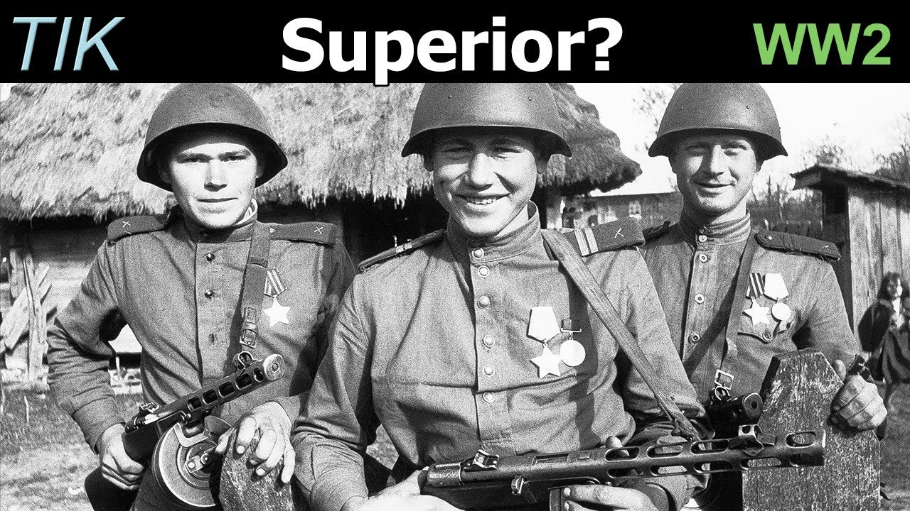 Soviet Infantry Small Arms Advantage Late in WW2? TIK Q&A