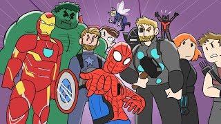 EVERY Marvel Movie Animated Recap | MCU Avengers Compilation