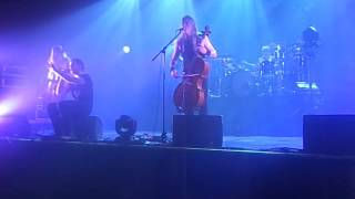Apocalyptica Hole in my soul Kyiv 1.12.15