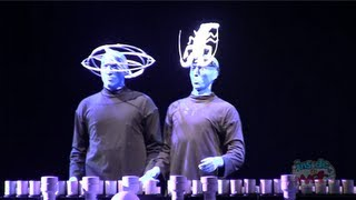"Blue Man Group does Lady Gaga ""Bad Romance"" at Universal Orlando"