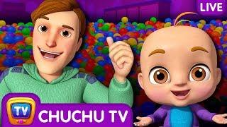 Johny Johny Yes Papa 3D Nursery Rhymes & Songs For Babies - Live Stream width=