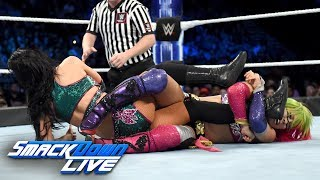 Asuka vs. Peyton Royce: SmackDown LIVE, Oct. 2, 2018