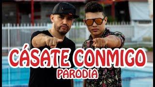 Silvestre Dangond, Nicky Jam - Cásate Conmigo (PARODIA)