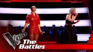 Bethzienna Williams VS Moya - 'Never Tear Us Apart' | The Battles | The Voice UK 2019