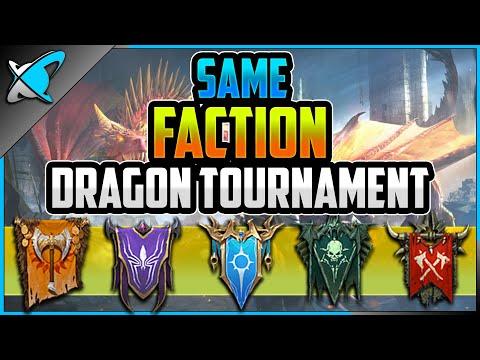 *SAME FACTION* Dragon Tournament !? | Are You Ready !? | RAID: Shadow Legends