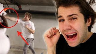HE GOT INTO A FIGHT WITH A PERFORMER!! (FREAKOUT) width=