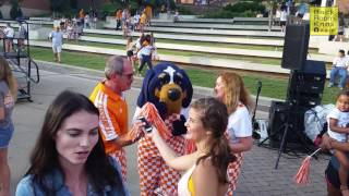 Tennessee Vol football Pep Rally Feat. Smokey & Jalen Hurd