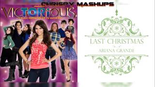 [DAY 1 OF 12: ARI] Victorious & Ariana Grande - Want You Back / Last Christmas Mashup
