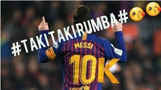 Lionel Messi's skills on Taki Taki