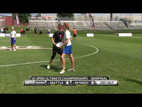 Video Thumbnail: 2014 U.S. Open Club Championships, Women's Semifinal: San Francisco Fury vs. Seattle Riot