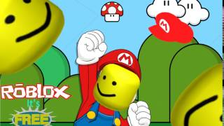 super mario but with the roblox death sound