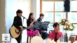 Singapore Wedding Live Band 简单爱 by 周杰伦 Cover Video