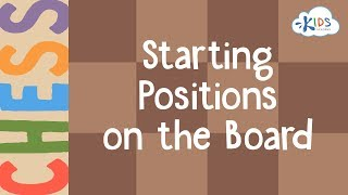 Chess: Starting Positions on the Board