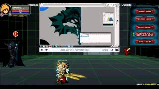 AQWorlds - Dage The Evil LIVE Drawing Event 2012