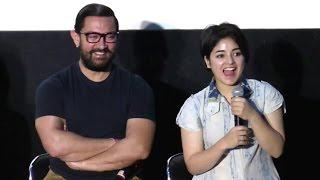 CUTE Girl Who Is Acting In Aamir Khan's Secret Superstar & Dangal Movie - Zaira Wasim