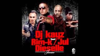 DJ KAYZ feat RIM-K / JUL / DIESELLE - Jnouné - SON OFFICIEL (inedit)