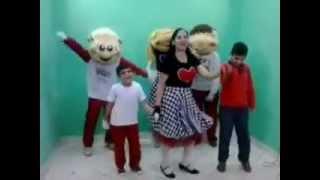 Ploc Ploc Ploc - Aline Barros - Tia Fran e Turma da Alegria no Programa Espaço Criança