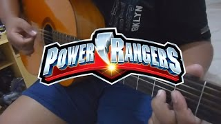 Power Rangers Theme - Fingerstyle Guitar Cover - Cassio Naum