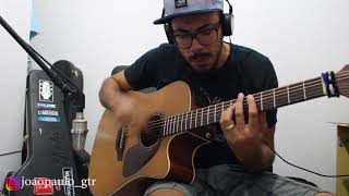 """Violão cover da música """"Amor Da Sua Cama"""" - Felipe Araújo - JP Oliveira"""
