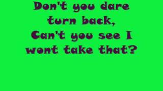 Hole In The Head - Sugababes with on screen lyrics