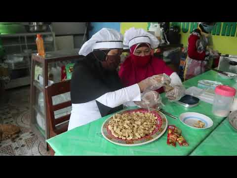 Produksi Snack Aluevera SMK MUH 2 TURI