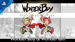Wonder Boy: The Dragon's Trap - Wonder Girl Trailer | PS4