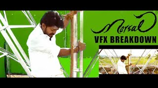 Mersal : VFX Breakdown | Behind the Scenes Making, Shooting Spot | Vijay, Atlee Movie