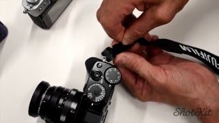 The BEST way to attach a Camera Strap