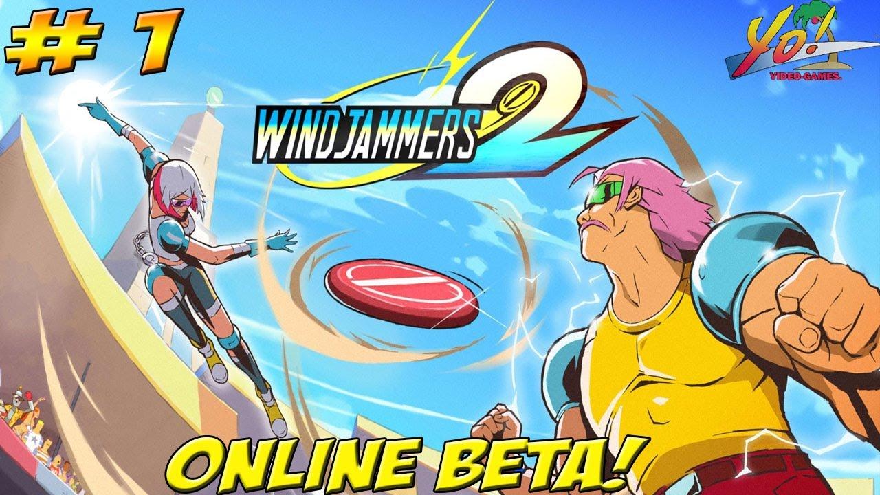 Maximilian_DOOD - Windjammers 2! Online Beta! Part 1 - YoVideogames