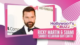 Ricky Martin - Jwan Yosef Sambut Kelahiran Bayi Perempuan
