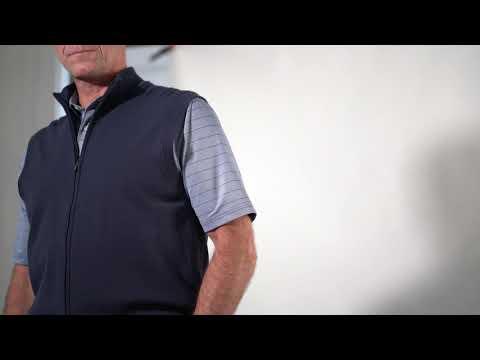 G7F20V135_Performance Blend Lined Full Zip Wind Vest