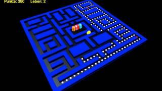 Pacman 3D Remake in XNA