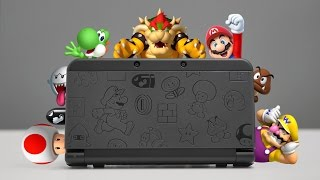 NEW Nintendo 3DS Mario Black Edition Overview!