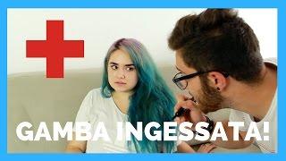 Situazioni da GAMBA INGESSATA | Brian Amato feat Murielboom