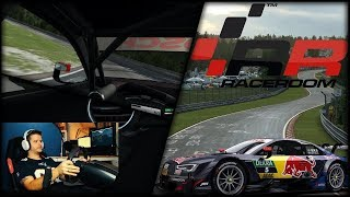 1. Testfahrt mit HeadTracking DELANCLIP System / Raceroom Nürburgring Grüne Hölle / AUDI RS5 DTM