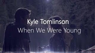 Kyle Tomlinson - When We Were Young   عروض المواهب البريطانية ( مترجم ) ٢٠١٧