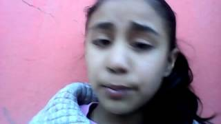 Niña cantando ángel de yuridia