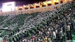 TIFO Raja Club Athletic vs Monterrey 2-1 (vamos)