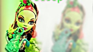 Обзор куклы Монстр Хай Венера Макфлайтрап Цветы Мрака (Monster High VENUS MCFLYTRAP)